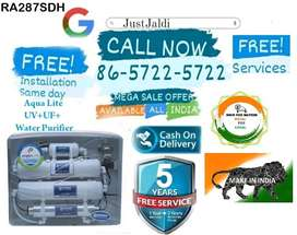 RA287SDH WATER PURIFIER WATER FILTER TV DTH   FREE INSTALLATION AND SE
