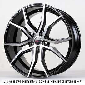 spesial LIGHT B274 HSR R20X85 H5X114,3 ET38 BMF