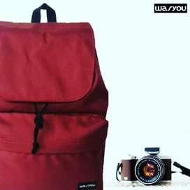 NEVAN MAROON (NVNMRN) Backpack
