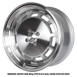 home credit NEMESIS JD7331 HSR R17X75/85 H4X100 ET42/38 SMFL