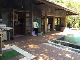 Villa Mewah Furnish di Jalan Wates km 10 Ada Kolam Renang Pribadi
