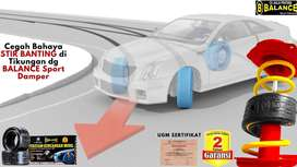 Penyebab Setir Mobil Banting Ke Kiri TUNTAS dg BALANCE Sport Damper