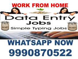 Part Time Home Based Data Entry Job Copy Paste Work On Ms.word, Typing