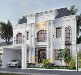 Jasa Arsitek Bekasi Desain Rumah 322m2 - Emporio Architect