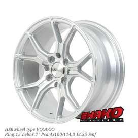 Voodoo R15 - HSRwheel Makassar Velg Mobil Racing Import
