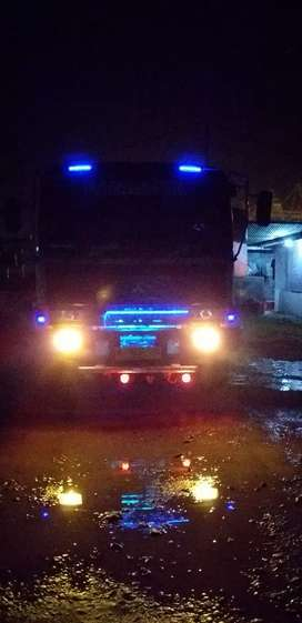 Truck tangki air