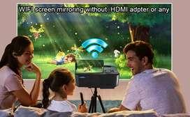 IPL Big Offer Full HD Mini WiFi Projector watch TV Movies On Big Scree