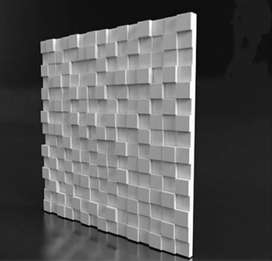 Decorative wall pannel