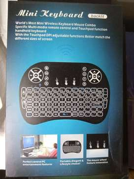 Wireless Mini Keyboard with Touch pad for Tablet, Laptop, PC