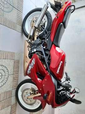 FOR SALE kawasaki ninja RR150cc th 2007 teregistrasi 2014