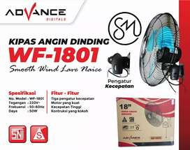 Kipas angin dinding Advance WF-1801 Wall besi