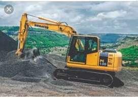 Excavator for Rent L&T PC 130