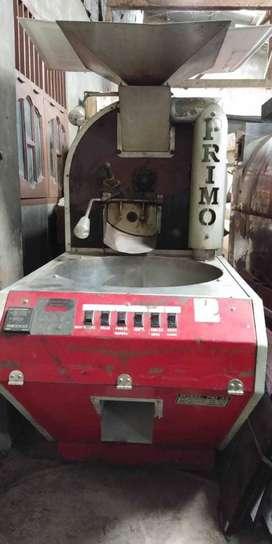 Mesin Roasting Pemanggang Biji Kopi 15 Kg Merk Primo Italy - Merah