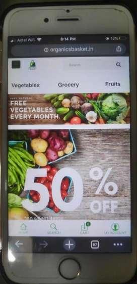 Vegetables Fruit WEBSITE AND APP