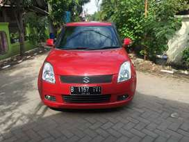 Swift gl at 2007 mint condition merah matic