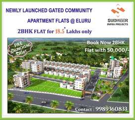 Pre-Launching Offer,2 BHK Flat @18.5*L Only Limited Flats & PMAY 2.67L
