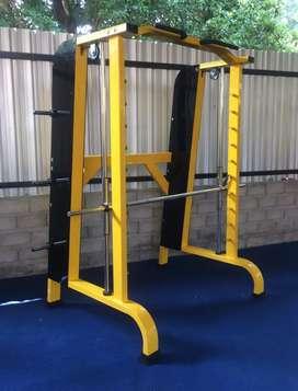 Alat gym fitness comersial machine smith