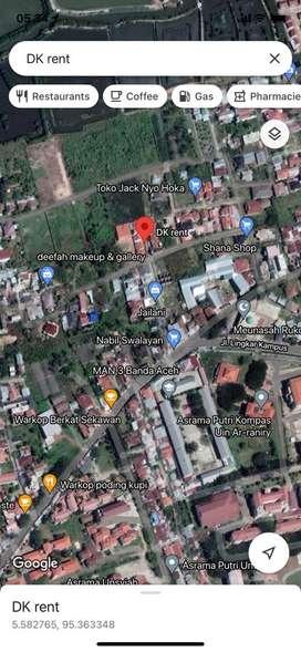 Rumah Sewa di Rukoh 2KT 2KM