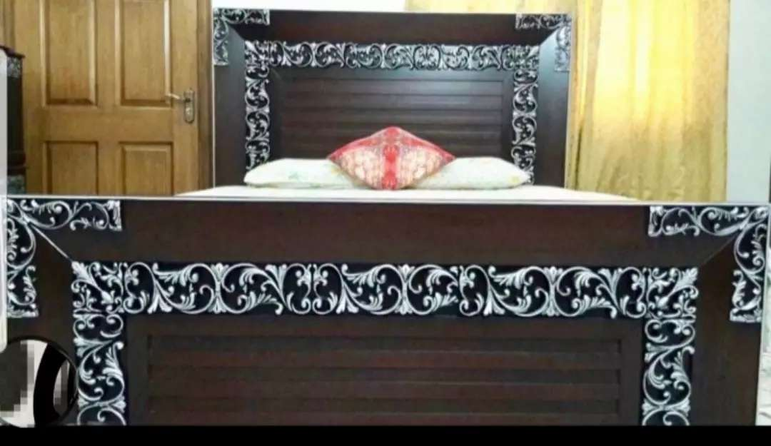 Fancy Silver Brown Bedset and other house furniture