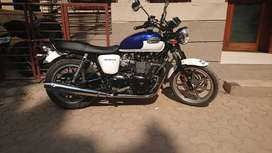 Triumph Bonneville limited edition with updated service on record
