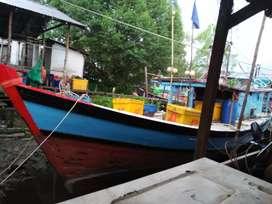 Dijual kapal ikan -siap beroperasi- mempawah timur -kalbar