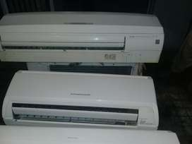 Used split ac new model new condition