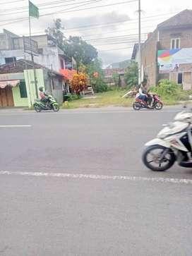 Tanah SHMP di Jl. Wonosari Km.11 Cocok Usaha Lingkungan Ramai Penduduk
