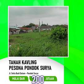 Dijual Tanah Luas 84
