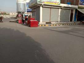 Double road Side shop at Chanab Commercial centers