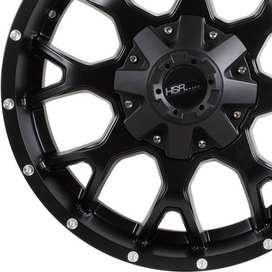 Harga Velg HSR RF1860A Ring20x9 H6x1397 ET18 Semi Matte Black