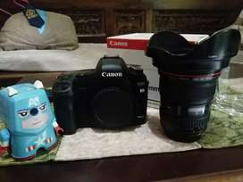 Jual kamera canon 5d mark II lensa canon EF 17-40 f/4L usm