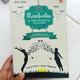 Buku Resolusiku untuk remaja