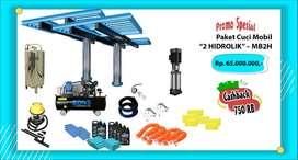 Promo Paket Cuci Mobil Hidrolik Cuci Mobil tipe H, doorsmeer hydraulic