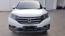 Honda Crv 2.4 at 2013 Putih Dp Ringan