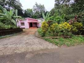 2 BHK house in 23 cents at Kalaketty, Kanjirappally Erattupetta road