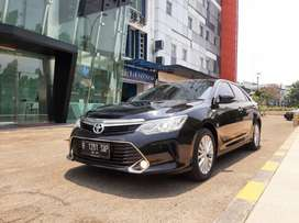 Low KM Record 30rb an!! Toyota Camry 2.5 V AT Facelift 2018 Pajak 1thn