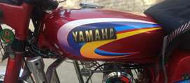 yamaha good condition at mid range.