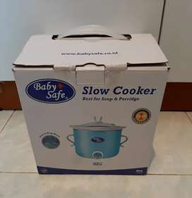 Slow Cooker Baby Safe Warna Biru