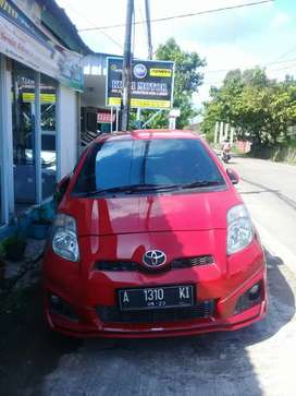 Toyota Yaris TRD manual 2013, Tangan pertama, km 87rb, pajak hidup
