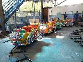 Mini coaster odong kereta mini panggung rel kacamata naik turun RAA