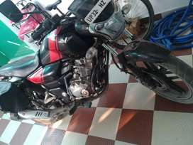 VIKRANT 150CC (black and red) in new condition zero problems