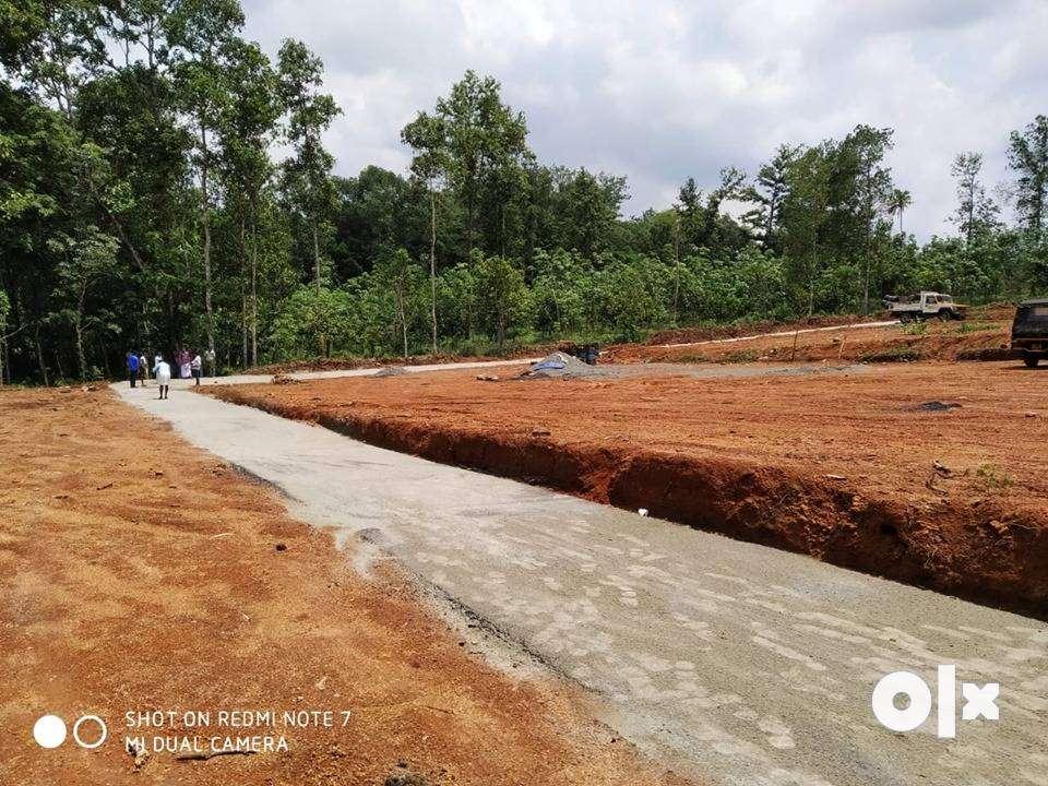 developed house plots for sale in kanjirappally - erattupetta road