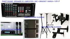 paket karaoke rumahan model kualitasnya top banget