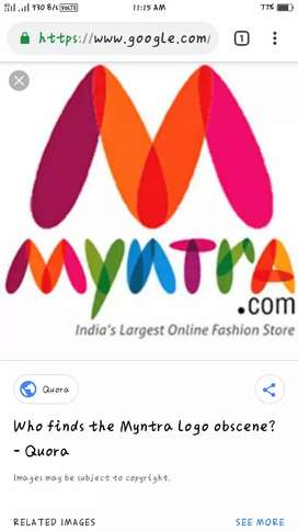 """Wanted Urgently Delivery Executive For """"MYNTRA"""""""