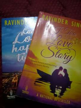 Ravinder Singh's most selling I too had a love story & love happens 2