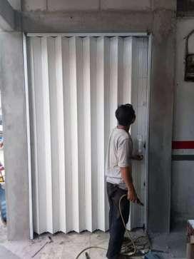ROLING DOOR, FOLDING GATE, KUSEN ALUMINIUM.