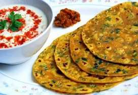 Healthy morning breakfast and tiffin for evening also lunch and dinner