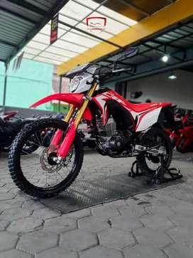 Honda CRF 150 L 2019 Merah favorit istimewa, Zaky Mustika