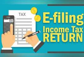 All types of e return filing at best rate