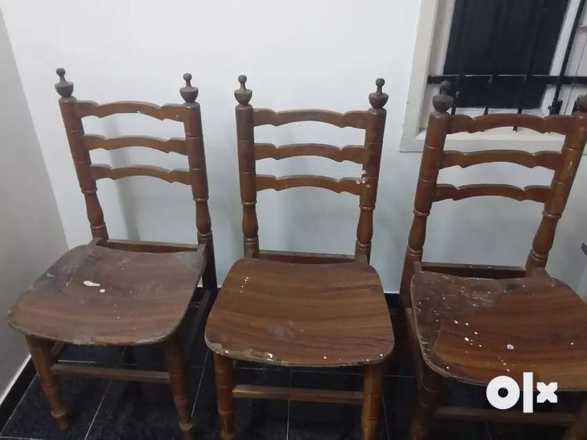 Wooden chairs 0
